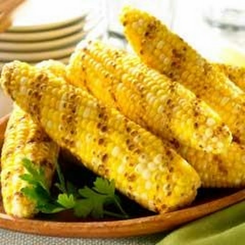 Buttery Grilled Corn