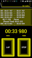 Screenshot of Retro Cyber StopWatch Timer