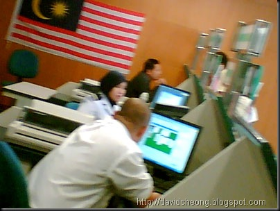 Efficiency staff in Sri Rampai immigration department