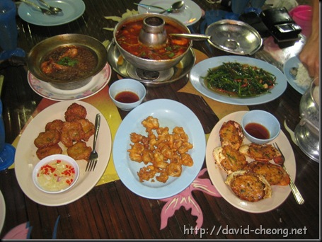 Food in Bukit Genting