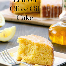 Lemon Cornmeal Olive Oil Cake