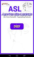 Screenshot of ASL American Sign Language
