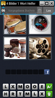 Screenshot of 4 Pics 1 Word Answers & Cheats
