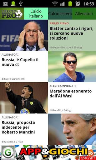 News calcio e calciomercato