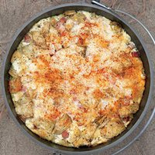 Ham-and-Cheese Strata