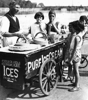 e dopo aver giocato, un bel gelato!