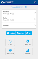 Screenshot of simPRO Connect
