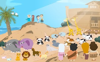Screenshot of Noah's Ark Bible Story