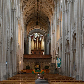 Norwich Cathedral by Santosh Vanahalli - Buildings & Architecture Places of Worship ( uk, norwich cathedral )