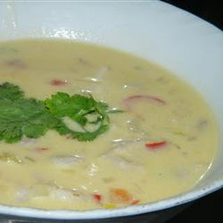 Coconut Conch Chowder