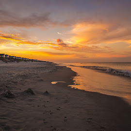 by Justin Brady - Landscapes Beaches ( water, sand, obx, waves, sunset, ocean, corolla, beach, north carolina,  )