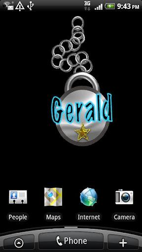 Gerald Live Wallpaper