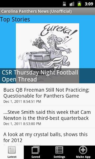 Carolina Panthers News NFL