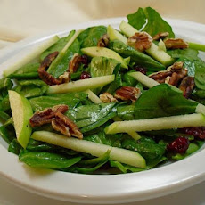 Spinach and Green Apple Salad, Diabetic