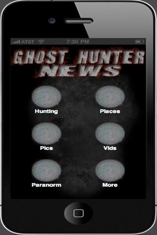 ghost-hunter-news for android screenshot