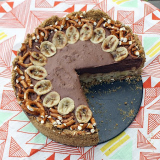 No-Bake Fat Elvis Peanut Butter & Banana Pie
