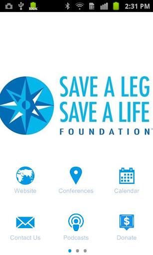 Save A Leg Save A Life