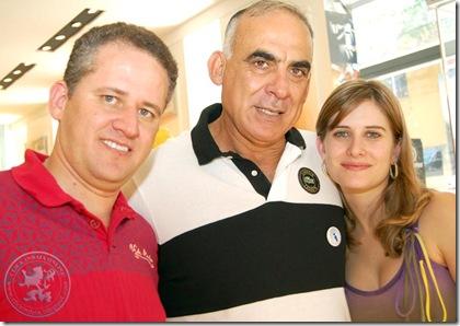 Flávio, Vanoil e Yasmine