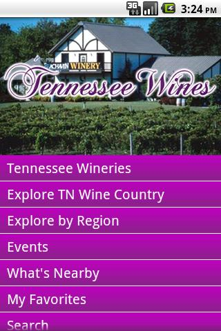 Tennessee Wine Country