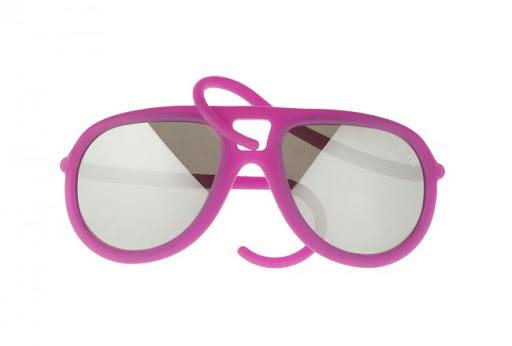 ALeRO GUM Drop Pink rubber sunglasses