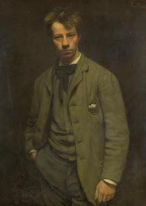 RIJKS: Jan Veth: Portrait of Albert Verwey 1885