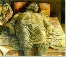 Cristo Risorto - Mantegna 2