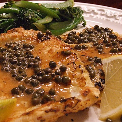 Lemon- Caper Calamari Steaks