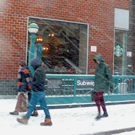 Before the Blizzard by Rob Kovacs - Novices Only Street & Candid (  )