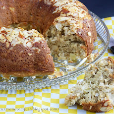 Pineapple, Coconut, Banana Bundt Bread