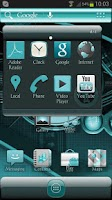 Screenshot of ADW Theme Cyanogen