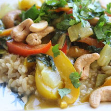 Colorful Cashew Curry