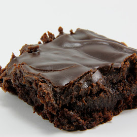 Chocolate Brownie by Darlene Stewart - Food & Drink Cooking & Baking ( brownie chocolate )