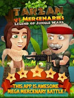 Screenshot of Tarzan Vs Mercenaries Free