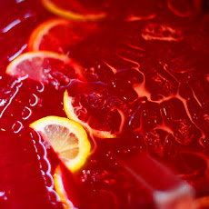 Easy 5 Fruit Wedding Punch w/ Ice Ring