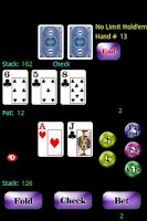 Screenshot of Headsup Poker Free