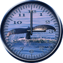 Whale Humpback 3 Analog Clock icon