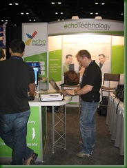 Tech.Ed Orlando 2008 echo Booth