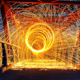 by Dedi Wahyudi - Abstract Light Painting