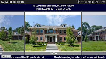 Screenshot of Hammond Residential RE