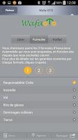 Screenshot of My Wafa Assurance Maroc