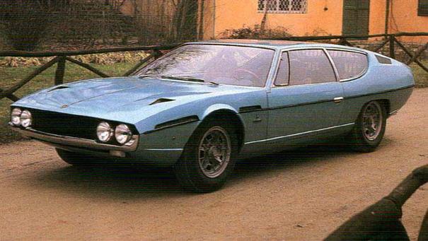 Le Mans Classic 2010 1968+Lamborghini+Espada+400+GT+S1