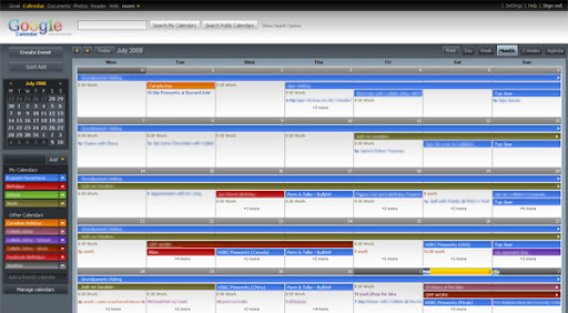 Gcal Redesigned