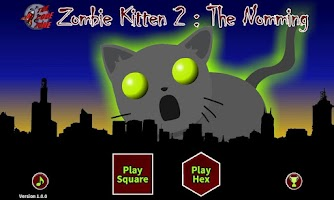 Screenshot of Zombie Kitten 2 : The Nomming