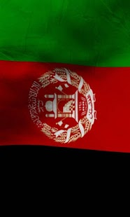 Afghanistan flag Free lwp - screenshot