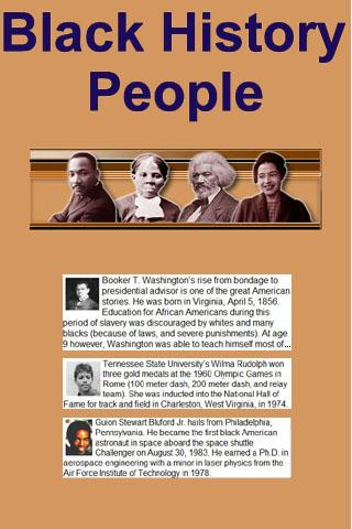 Black History People