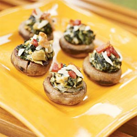Spicy Spinach-Stuffed Mushrooms Recipes — Dishmaps