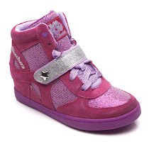 Skechers Glitter Wedge High Top HIGH TOP TRAINER