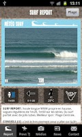 Screenshot of Lacanau Surf Info