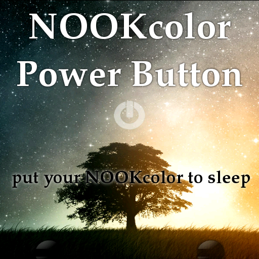 NOOK color power button DONATE LOGO-APP點子