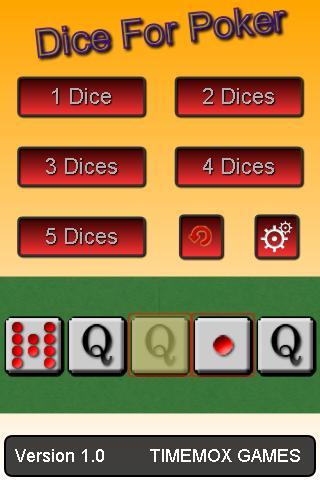 扑克骰子 - HTML5